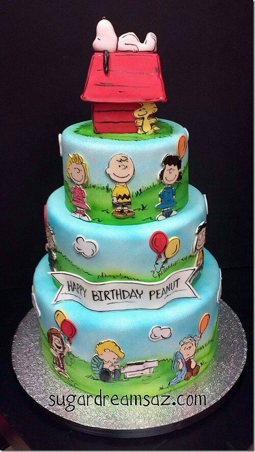 snoopy Cake Pinterest Snoopy Cake and Creative cakes