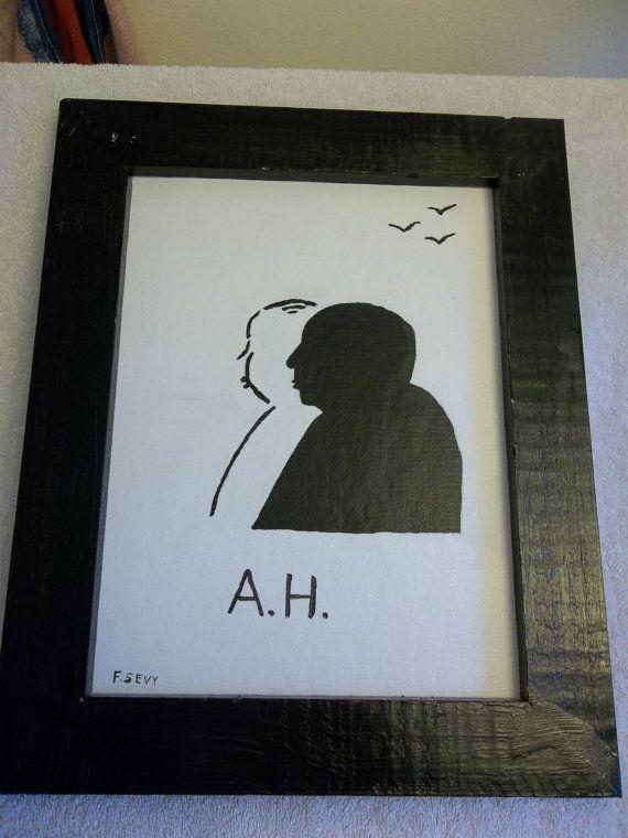 Original Acrylic Painting of Alfred by StillwatersPaintings, $35.00