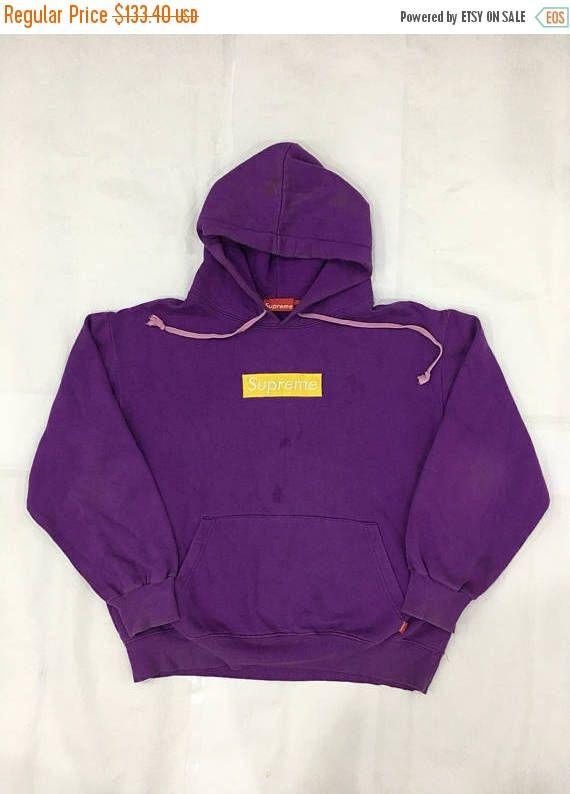 dee44d7d817d Supreme Box Logo Hoodie Purple Supreme Sweatshirt Supreme