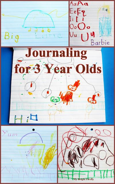 Telling Stories Through Journaling For 3 Year Olds