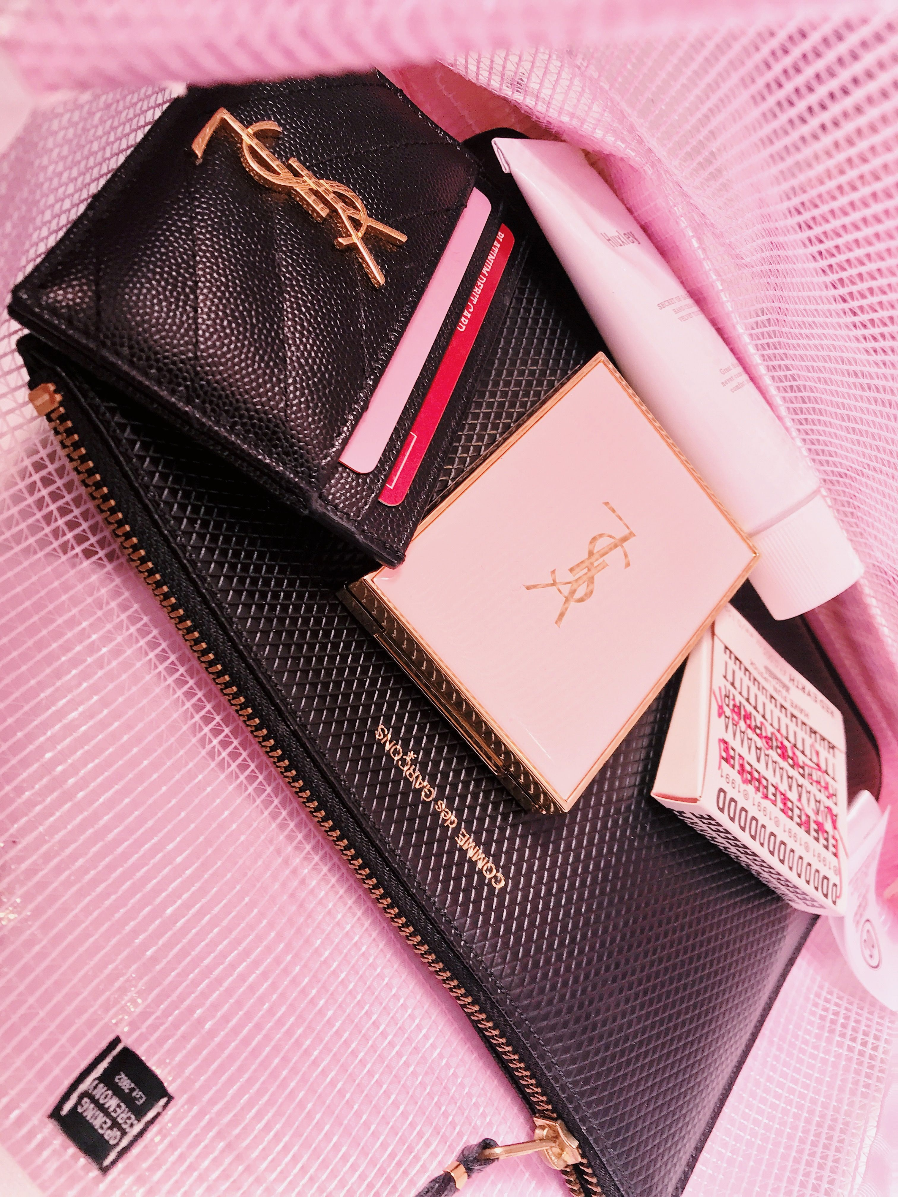 Opening Ceremony Ysl Card Holder Ysl Compact Comme Des
