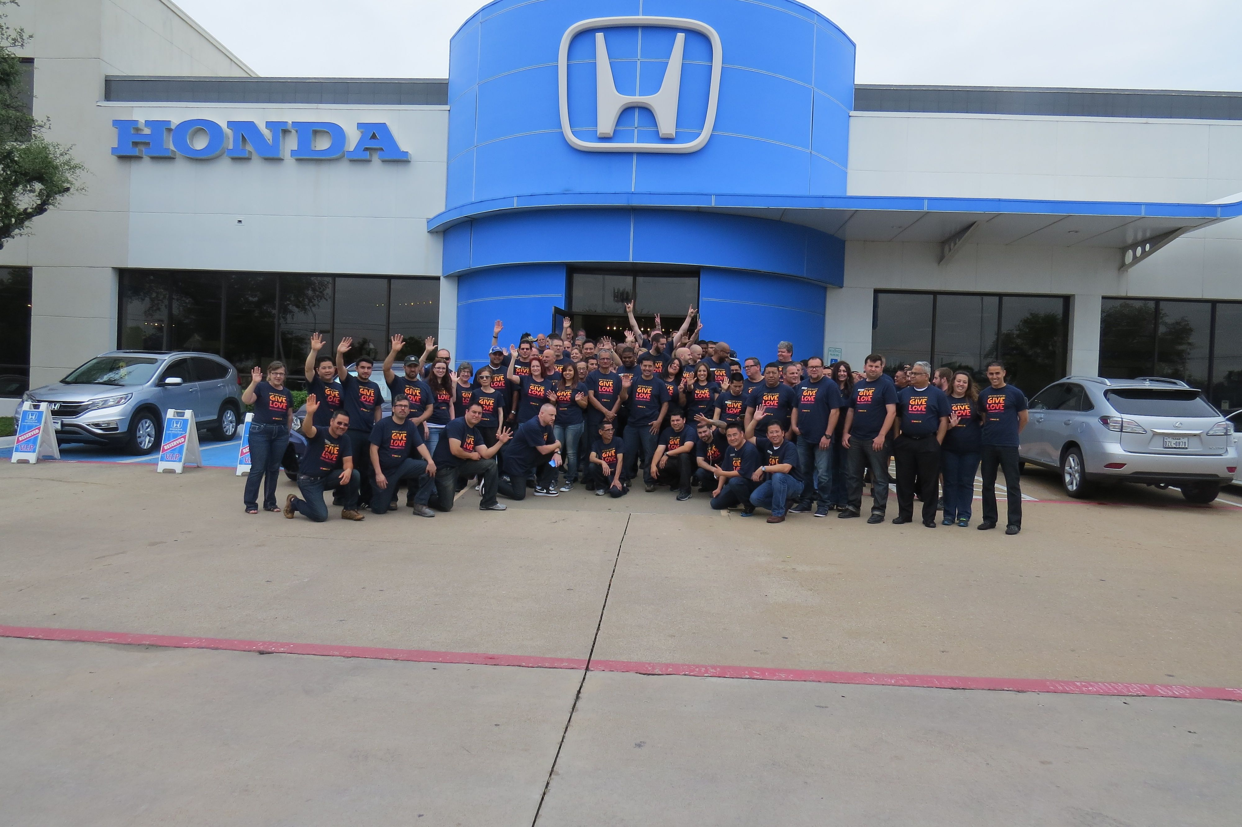 thank you lute riley honda for giving love to rmhd rmh dallas