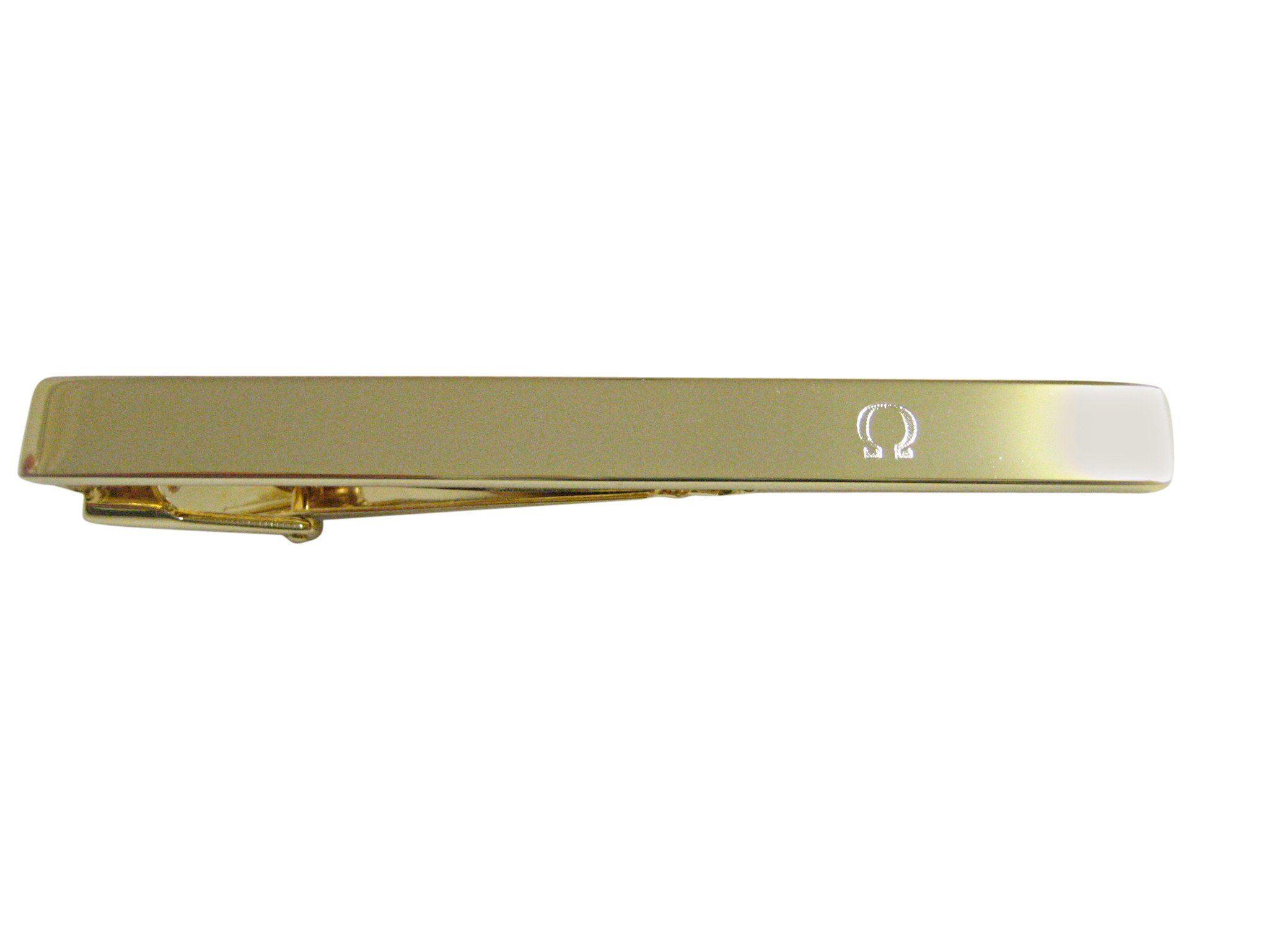 Gold Greek Omega Symbol