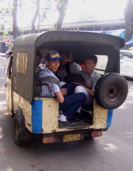 Bemo 7 Seater Bali Bali Indonesia Indonesia