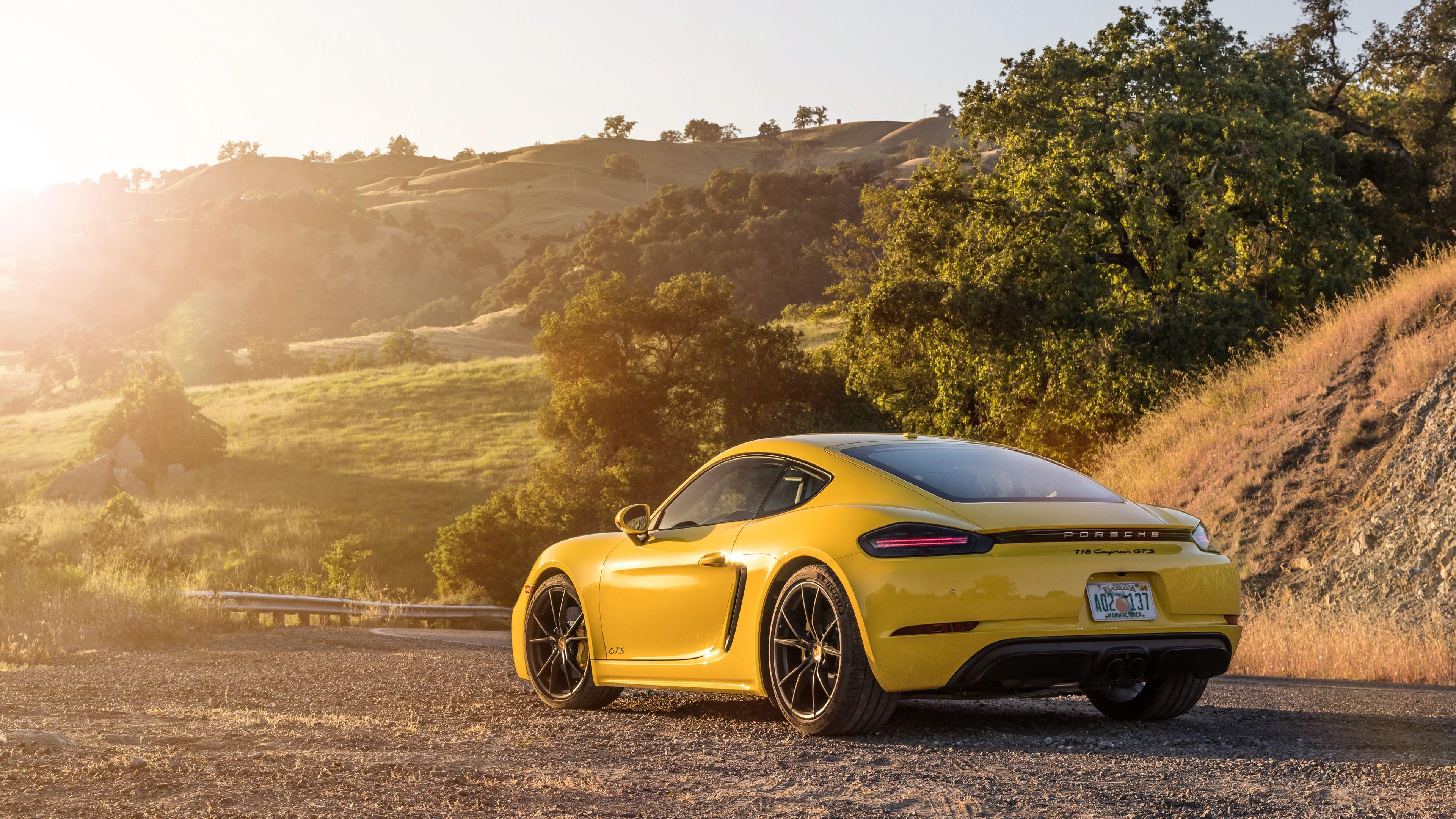 2019 Porsche 718 Cayman Gts Rear Side 4k Porsche Wallpapers Porsche 718 Wallpapers Hd Wallpapers Porsche 718 Cayman Gts Porsche 718 Cayman Sports Cars Luxury