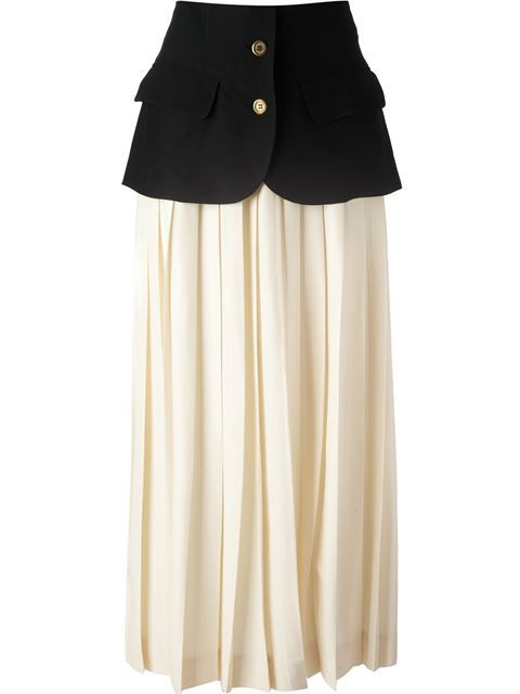 Shop Moschino Vintage layered skirt in A.N.G.E.L.O Vintage from the world's best independent boutiques at farfetch.com. Over 1000 designers from 60 boutiques in one website.