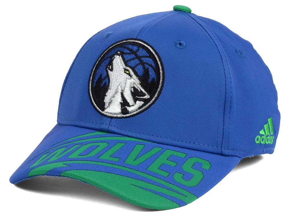Minnesota Timberwolves Adidas Nba Layup Flex Cap Adidas Nba