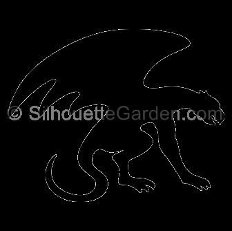 pin by muse printables on silhouette clip art at silhouettegarden rh pinterest ca Gothic Architecture Gargoyles gargoyle clipart free