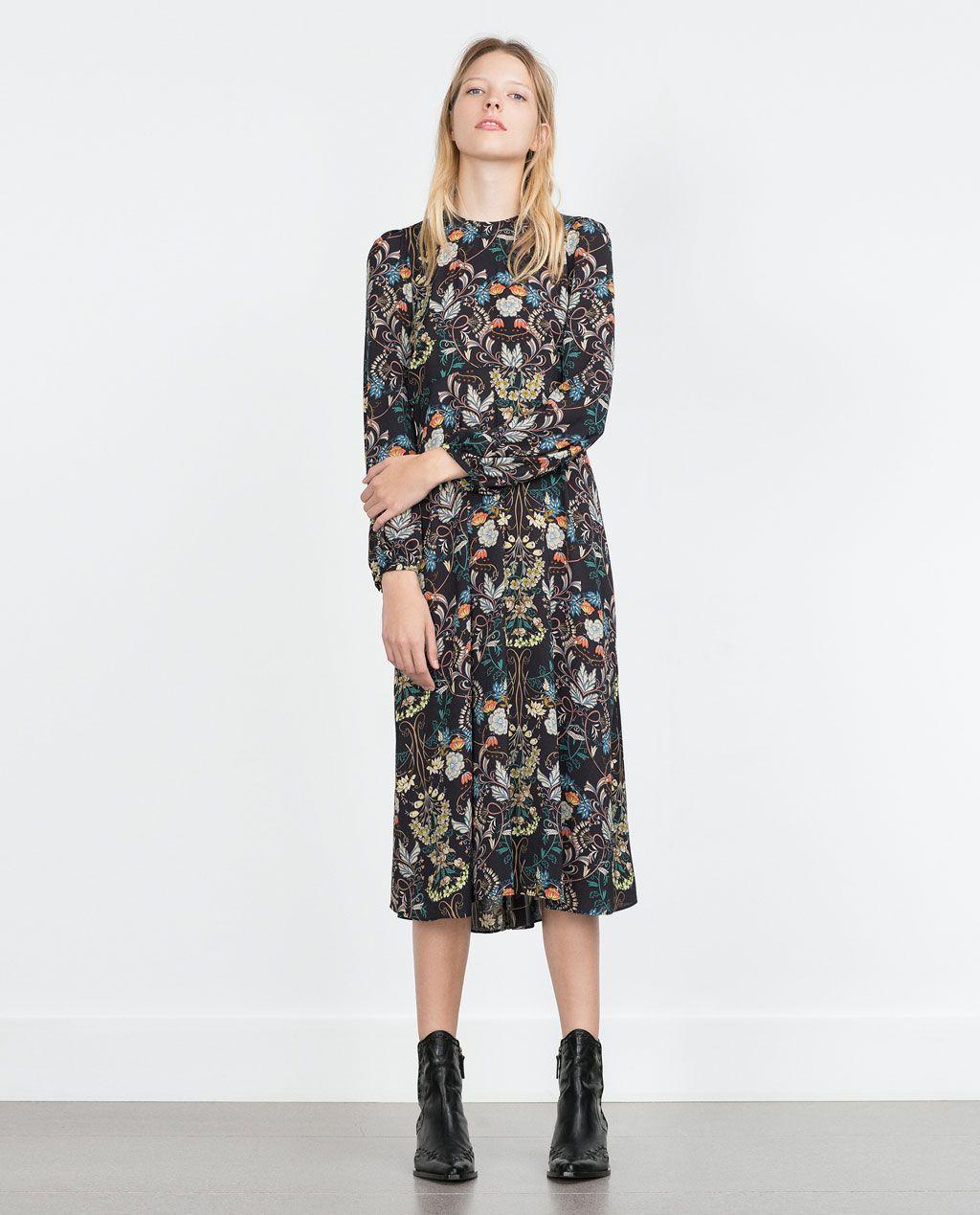 ザラ(ZARA)のスタンダードなワンピースで目指せファッション上級者♥   Kleider damen ...