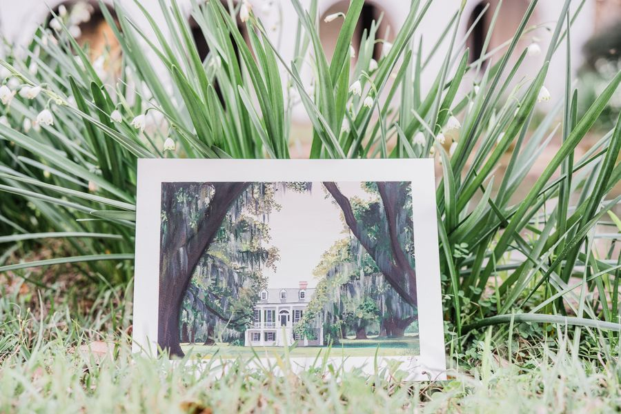 Lowcountry Wedding Inspiration at Grove House Plantation