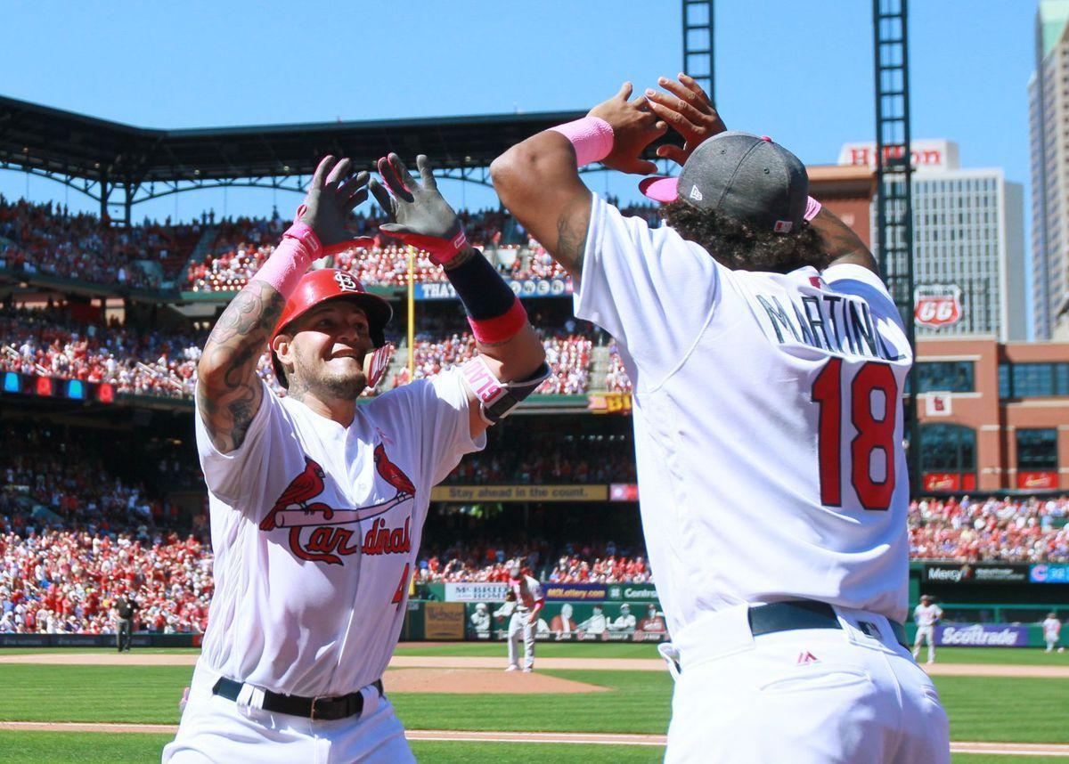 Photos Cards Shut Out Cubs To Win Series Cardinals Game St Louis Cardinals Stl Cardinals
