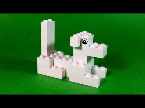 How To Build Lego Lazy Dog 4630 Lego Build Play Box Building