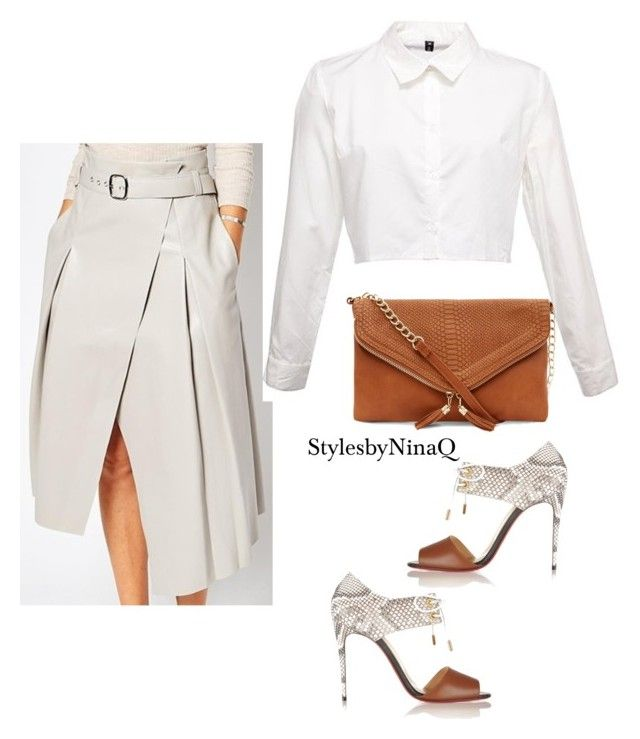 """Untitled #624"" by nina-quaranta ❤ liked on Polyvore featuring ASOS and Christian Louboutin"