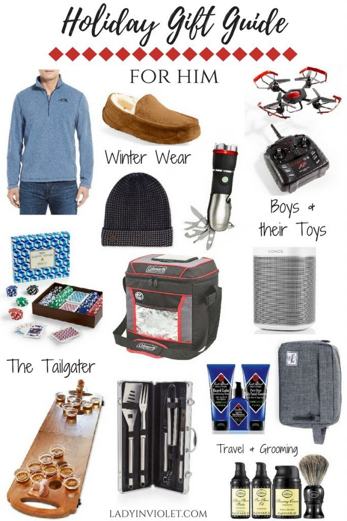 Holiday Gift Guide: Best Gift Ideas for Men | Christmas gift guide ...