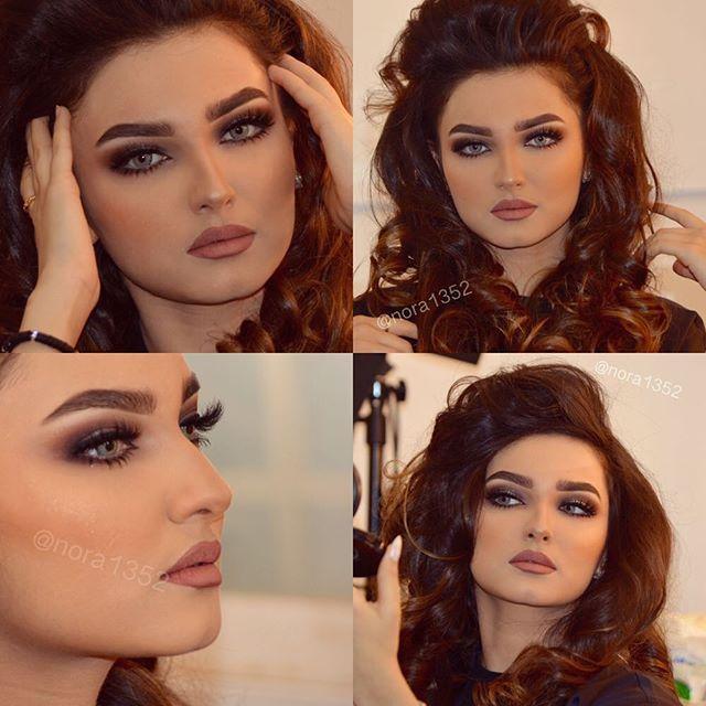Instagram Photo By Nora1352 Makeup Artist Nora Bo Awadh Via Iconosquare Gorgeous Makeup Arab Beauty Beauty Inspiration