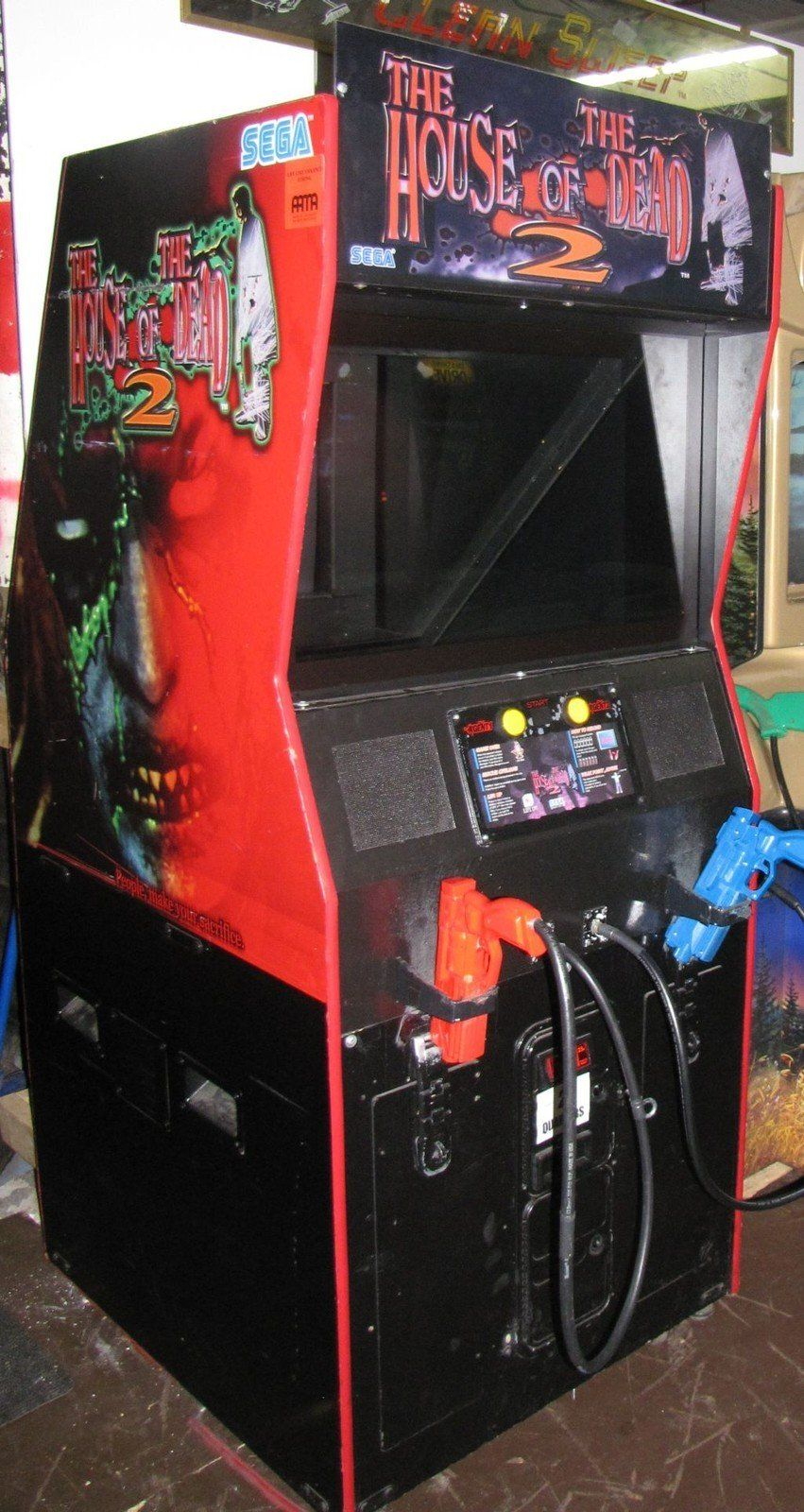 The House Of The Dead 2 Arcade Machine Google Search Arcade