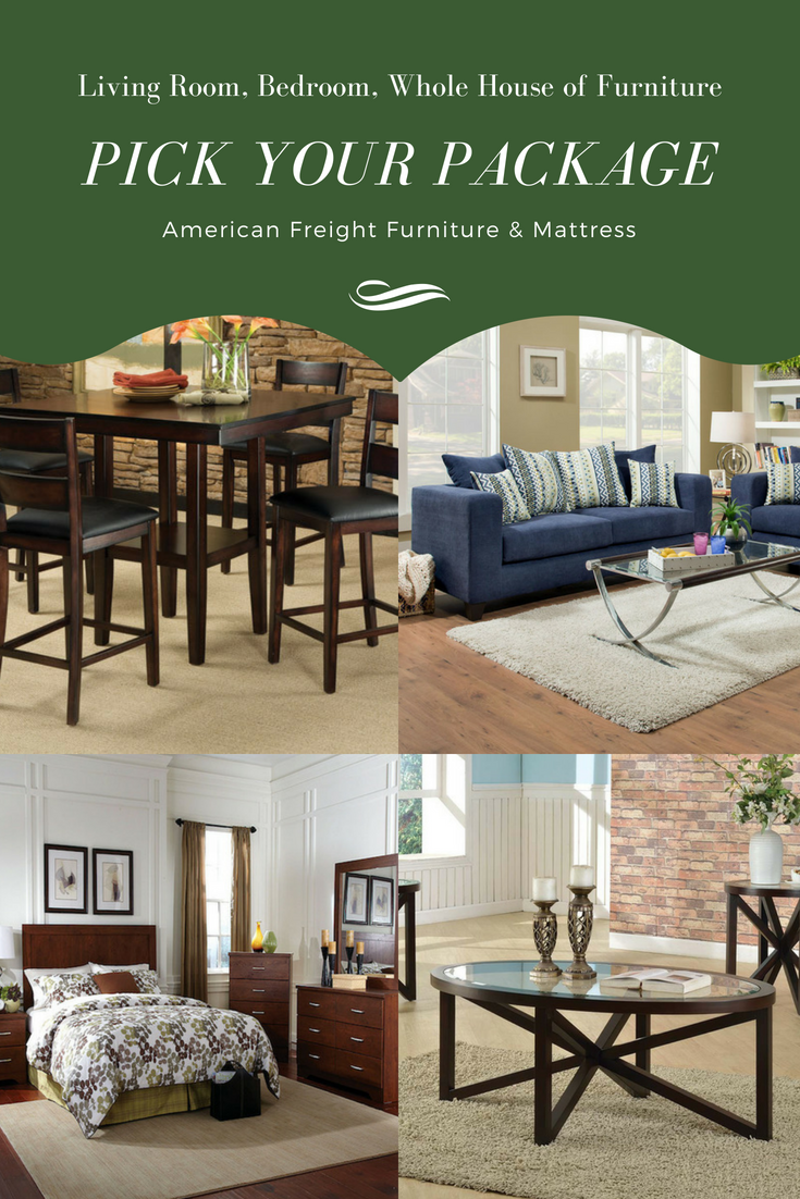 Pick Your Ideal Living Room, Bedroom And Full House Of Furniture When You  Shop With American Freight. Check Out Some Of Your Package Options In This  Blog!