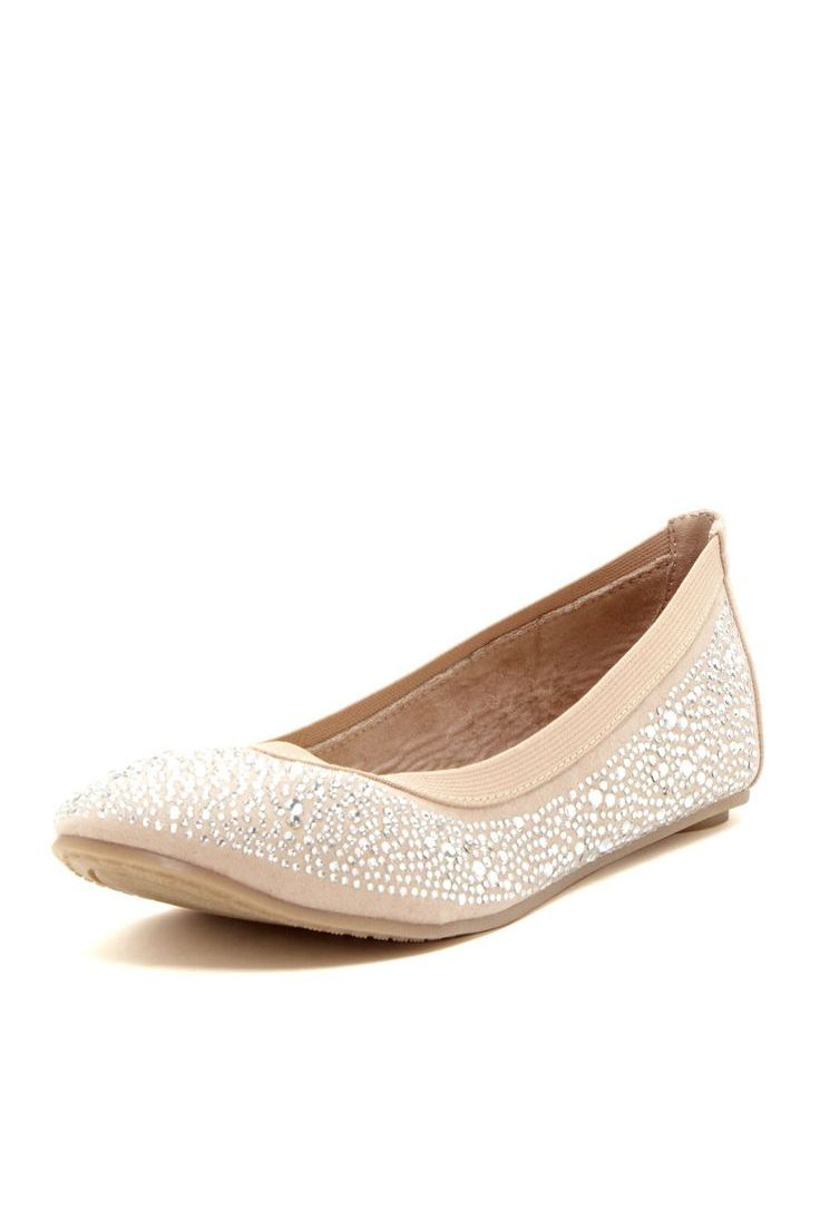 Crystal Ballet Flat... just bought these in black... love target ... 71224a15158e