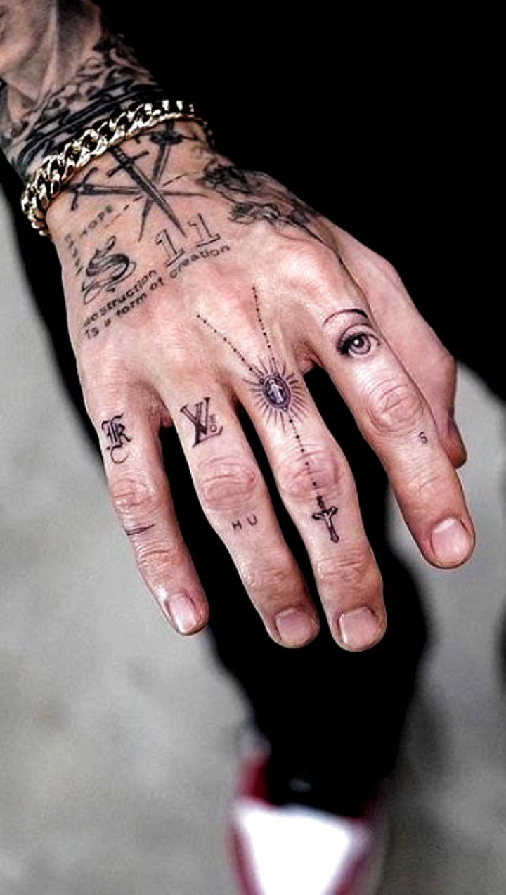 Tattoo Zitate In 2020 Hand Tattoos For Guys Hand Tattoos Simple Hand Tattoos