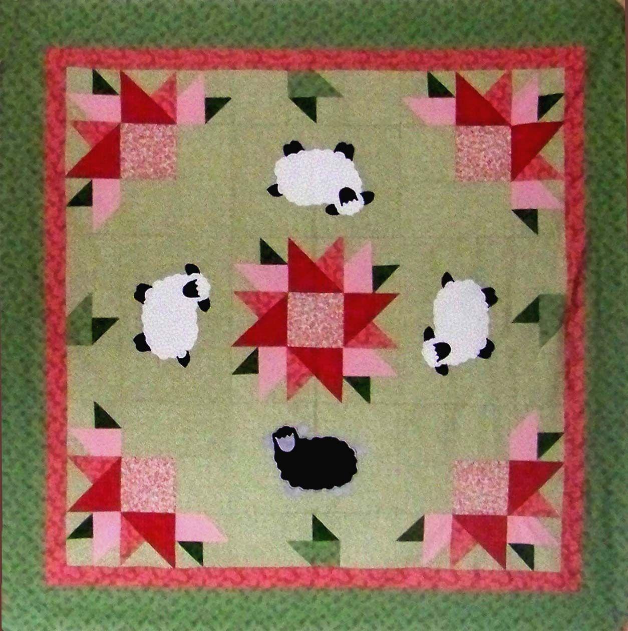 Sheep Quilt Sheep Pinterest