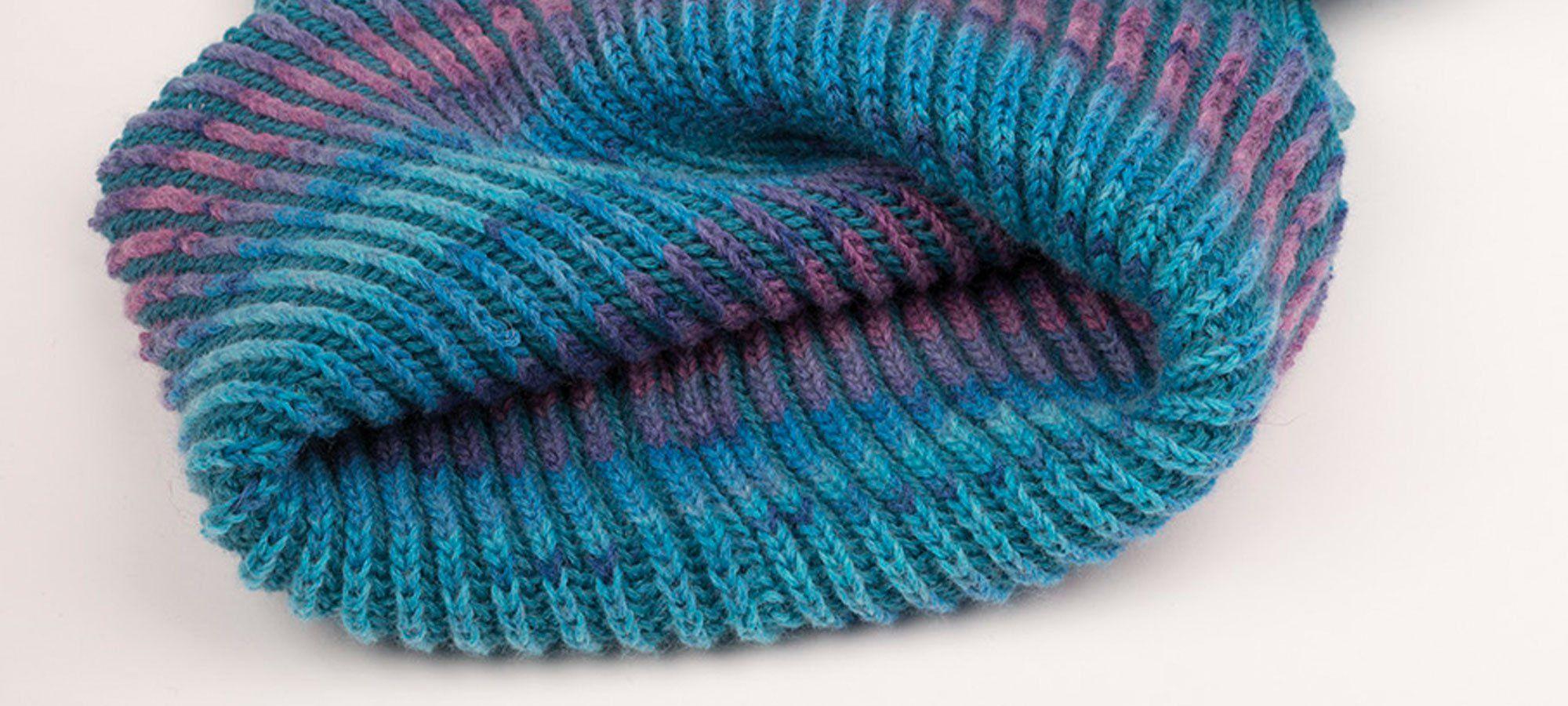 Strickanleitung Loop aus Sockenwolle #strickenundhäkeln