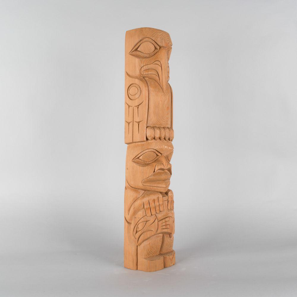Eagle And Human Sculpture By Doug Horne SculptureTotem PolesIndigenous