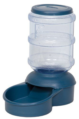 Petmate Le Bistro 5-Pound Feeder with Microban, Peacock Blue - http://www.thepuppy.org/petmate-le-bistro-5-pound-feeder-with-microban-peacock-blue/