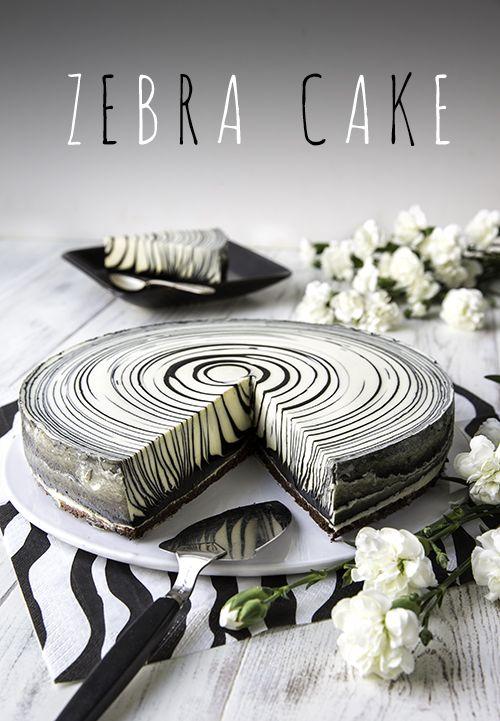 Zebra cake | Reseptit | Kinuskikissa #sweetpie