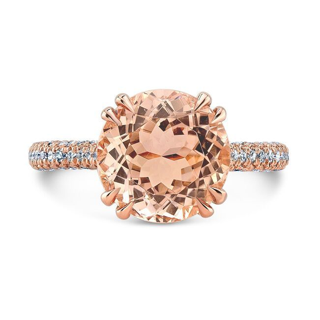 Morganite Engagement Ring by Anye Designs $1600