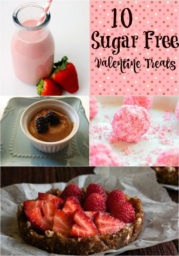 Yummy Sweets for Your Love  10 Sugar Free Valentines Day Treats  Little Family Adventure  10 Sugar Free Valentines Day Treats  These Desserts and snacks are a healthy way...