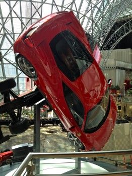 Review Ferrari World Abu Dhabi The Truth About Cars Ferrari World Ferrari World Abu Dhabi Ferrari