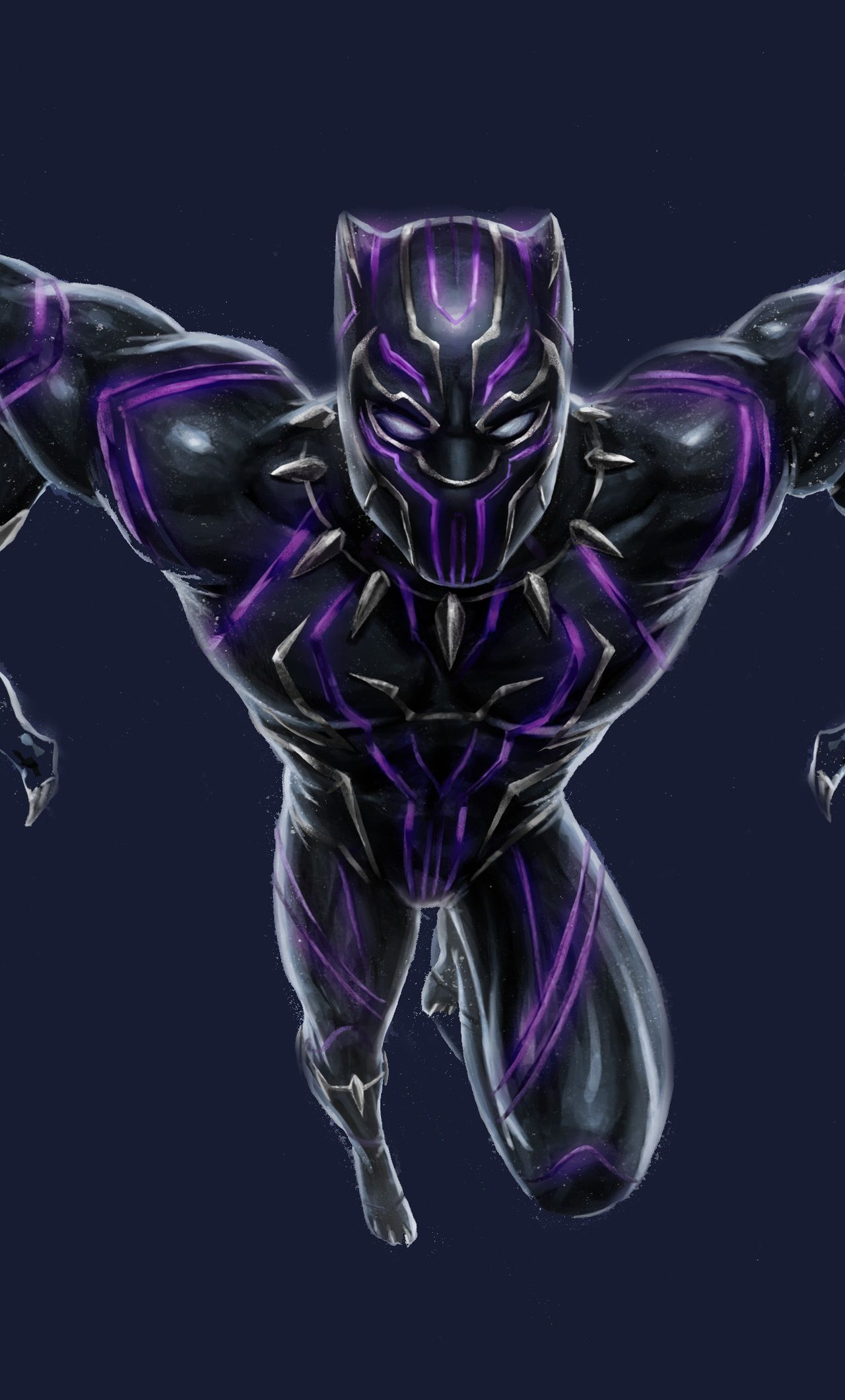 1280x2120 Black Panther Vibranium Suit Iphone 6 Hd 4k from