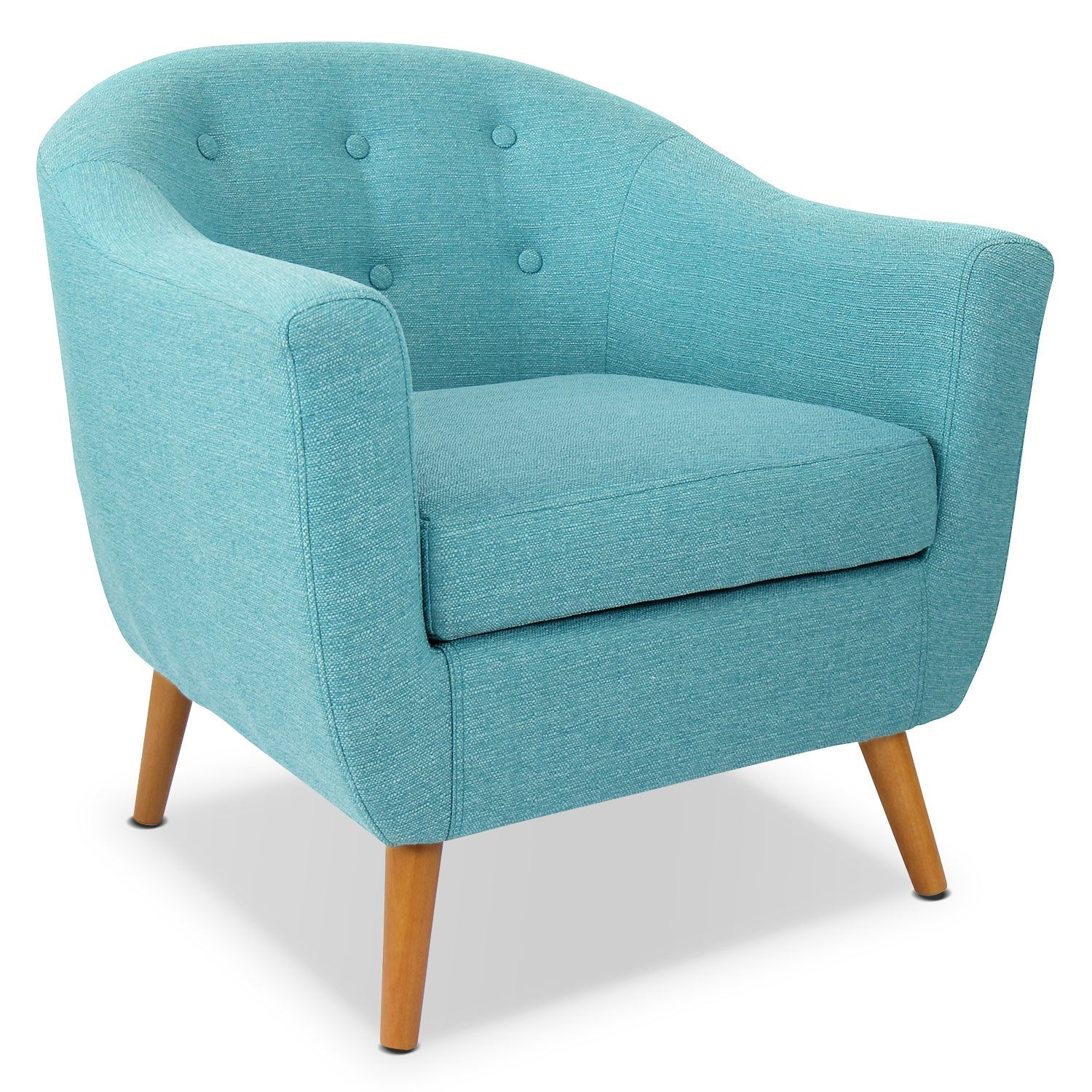Norman Accent Chair Teal