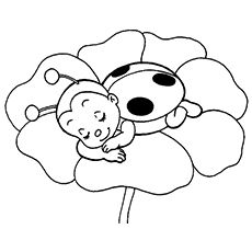 15 Cute Ladybug Coloring Pages Your Little Girl Will Love