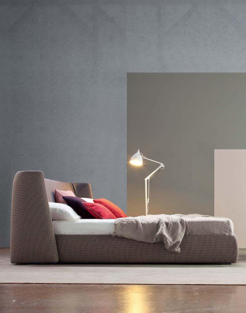 Furniture Design Double Bed double #bed with upholstered headboard basketbonaldo | #design
