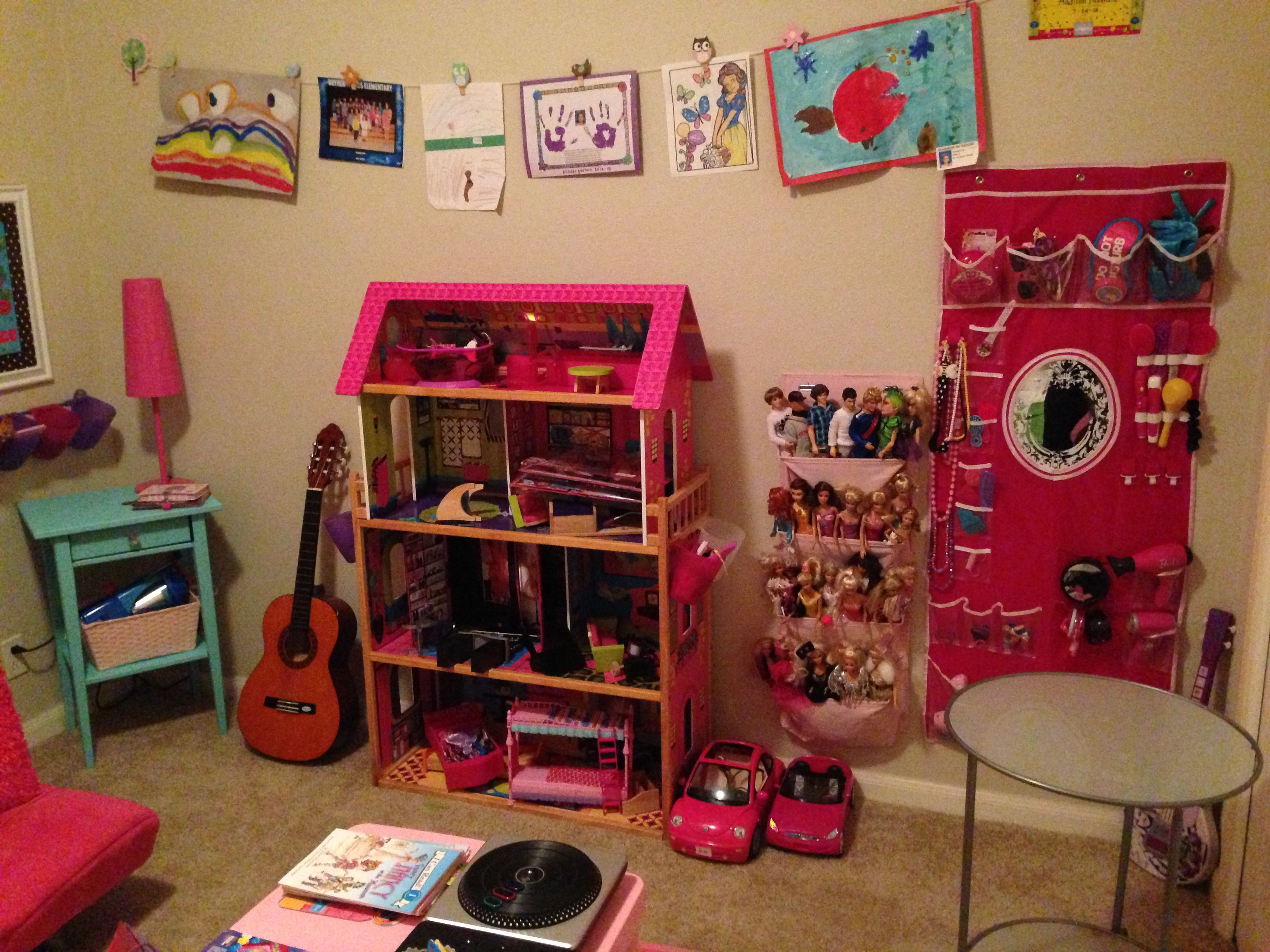 Barbie Storage Playroom Barbie Storage Toy Room