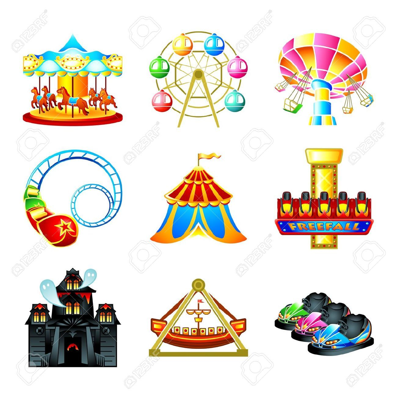 images of theme park rides Google Search