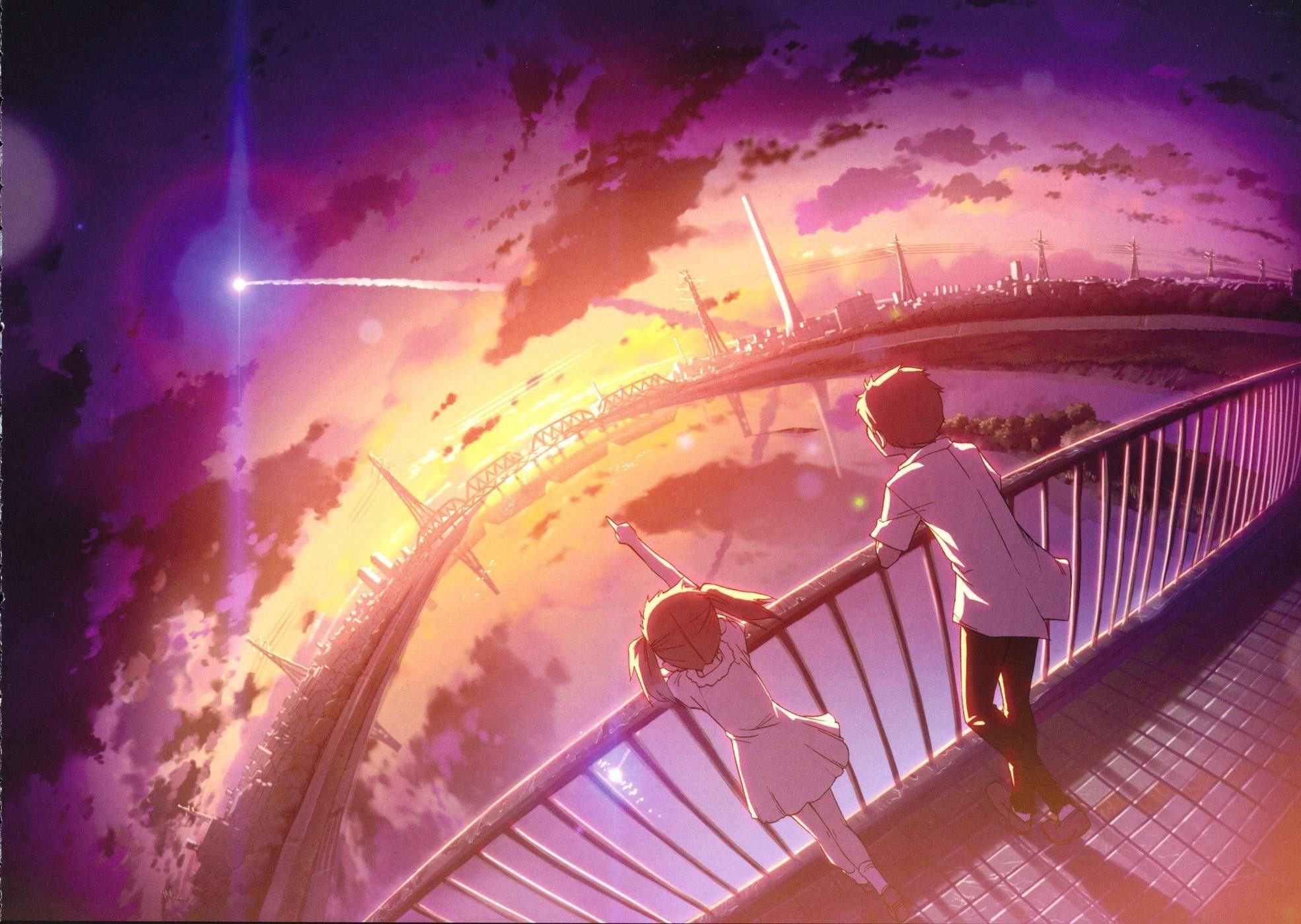 anime sky girl Recherche Google Illustrations animées
