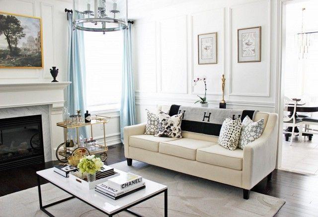 Best Decor Trends Home Black White Living Room Living Room 400 x 300