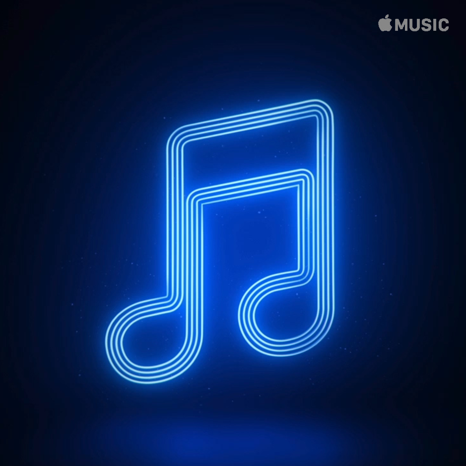 APPLE MUSIC NEON Apple Music Curated Playlist Artworks