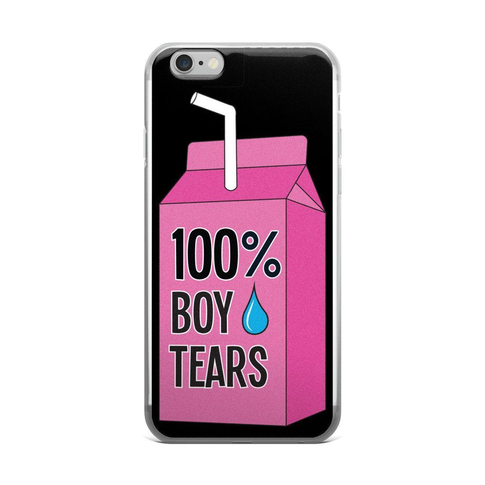 cheap for discount a39fc 548e3 100% Boy Tears iPhone 5/5s/Se, 6/6s, 6/6s Plus Case   Products   6s ...