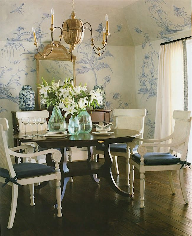 Will An All Blue and White Home