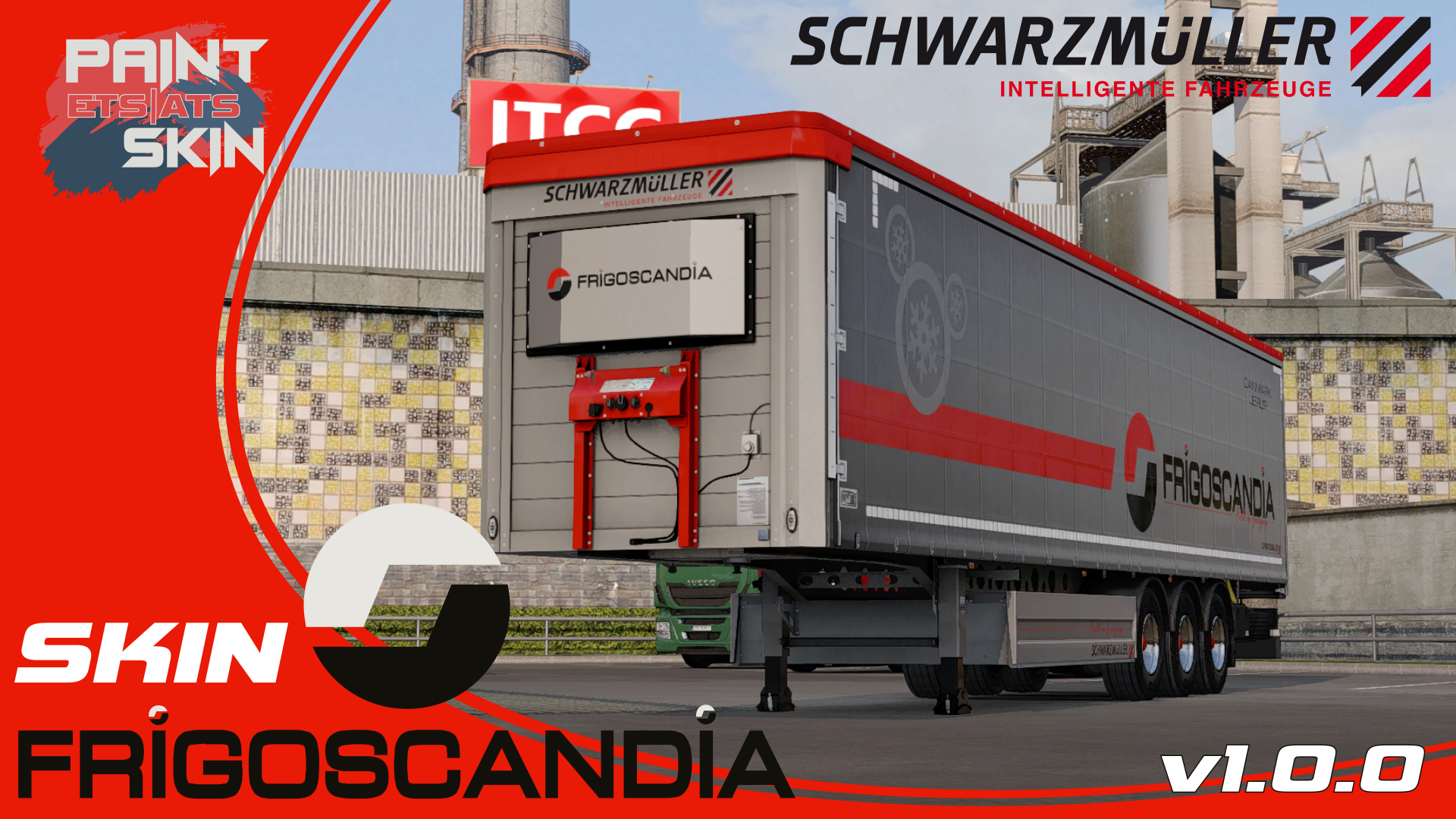 Ets2 Mods Skin Trailer Frigoscandia In 2020 Trailer Truck And Trailer American Truck Simulator