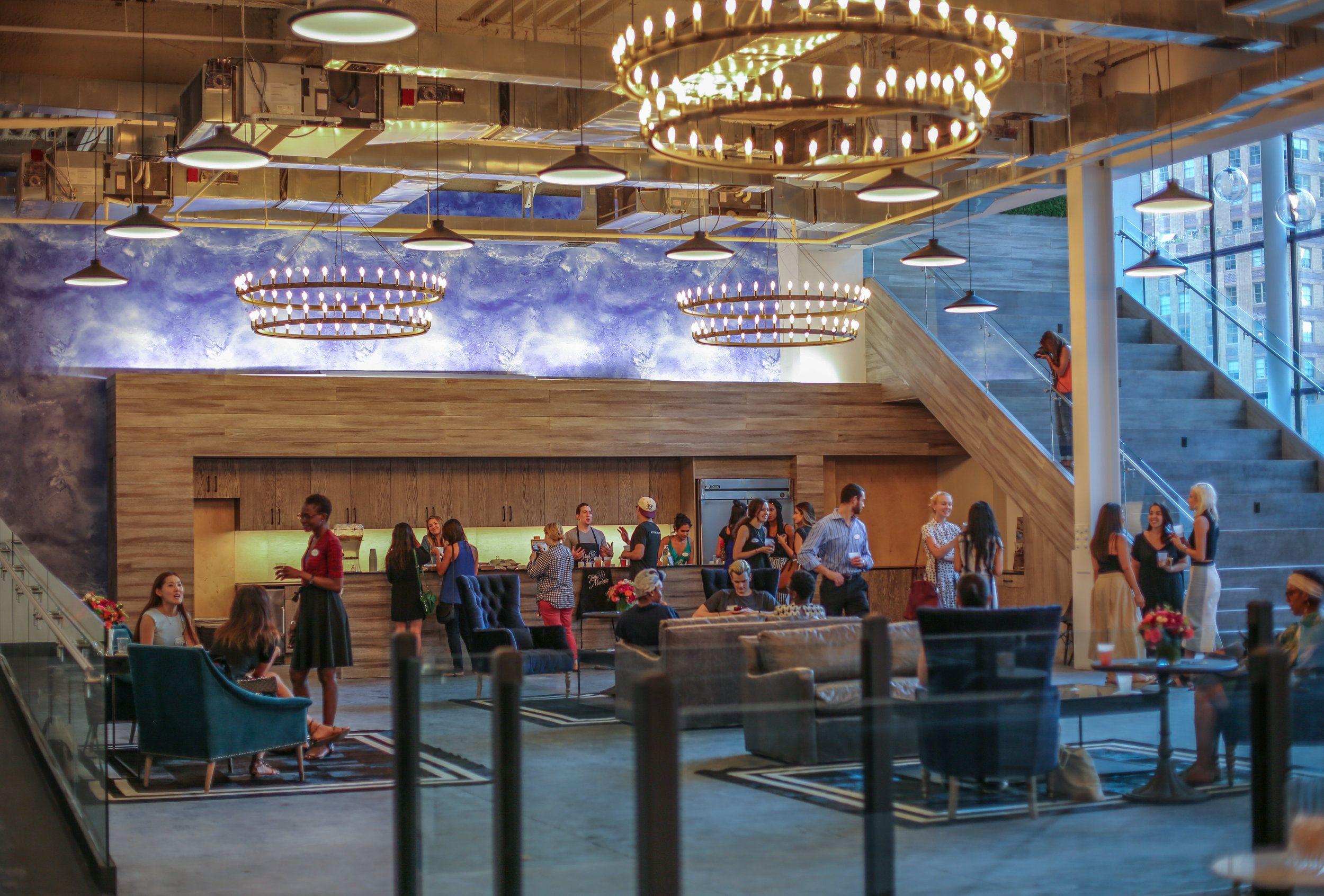 Coworkrs New Event Space The Mezzanine! www.themezznyc