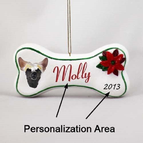 Chinese Crested Bone Ornament (With images) | Christmas ...