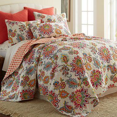 Jcpenney Com Levtex 2 Pc Floral Quilt Set Remodel