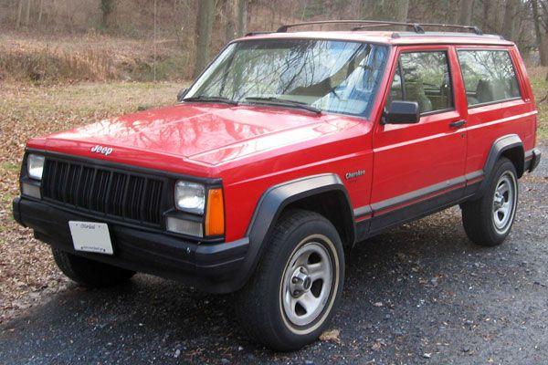 The 25 Greatest Boxy Cars Of All Time Jeep Cherokee Xj Jeep