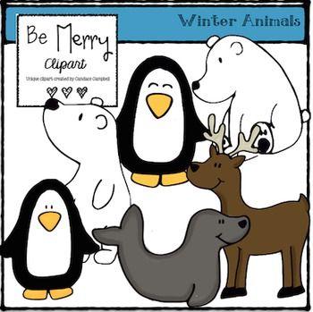 Winter Animal Clipart Clip Art Free Clipart For Teachers Classroom Clipart