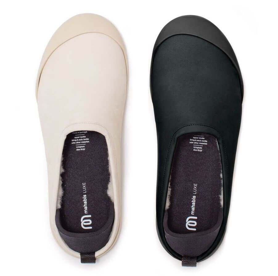 Mahabis Luxury Scandinavian Slipper Beautifully Sculpted European Leather Married With Cloud Soft Shee Scandinavian Shoes Comfortable Shoes Womens Slippers