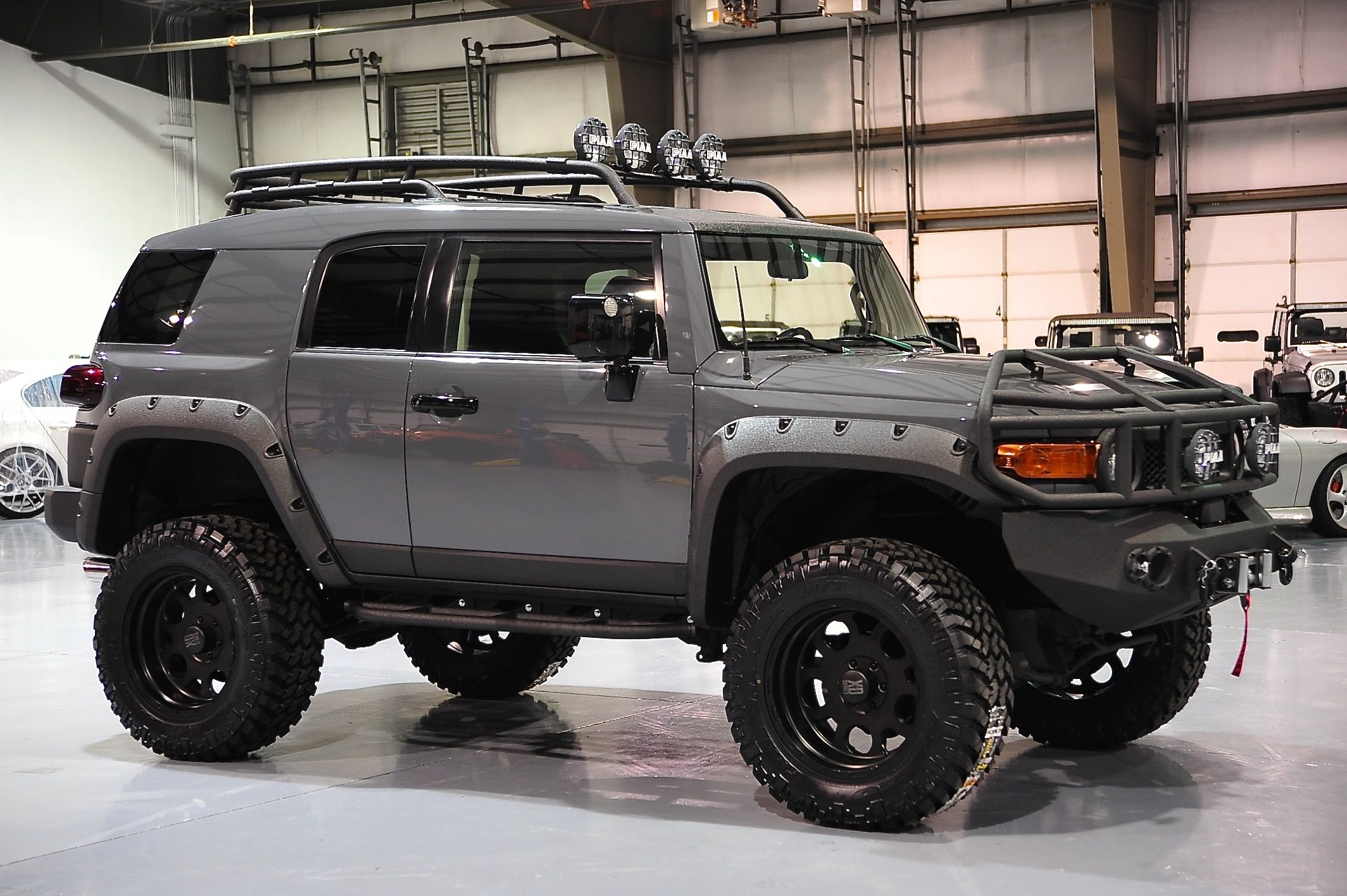 Fj Gray 1 Davis Autosports Fj Cruiser Mods Fj Cruiser Accessories Toyota Cruiser